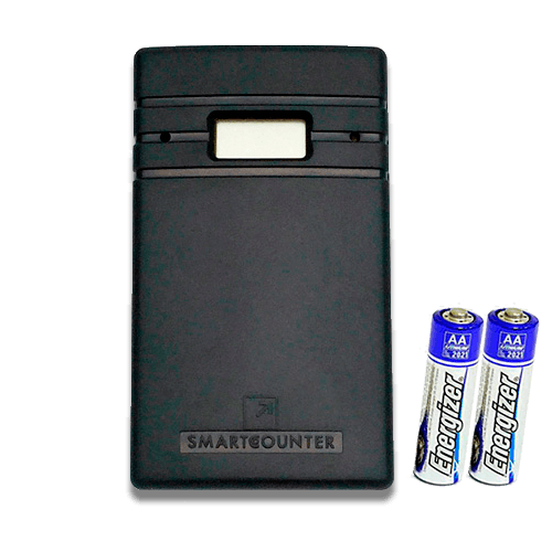 smart counter people counter png ...  sc 1 st  People counters Wireless for retail battery powered electronic ... & ? Smart Counter Lite S ? Wireless non-directional battery-operated